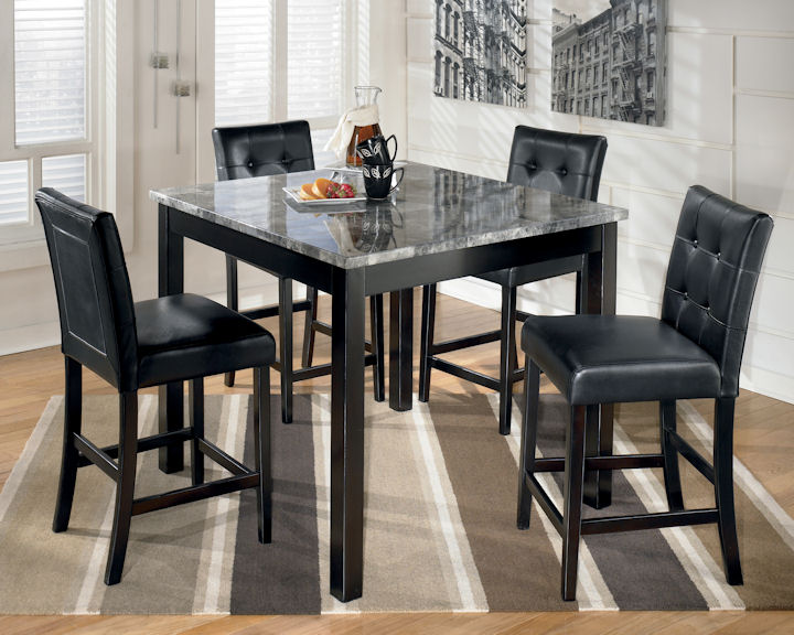 Exceptional Maysville Table U0026 4 Chairs By Ashley D154 | $599.00