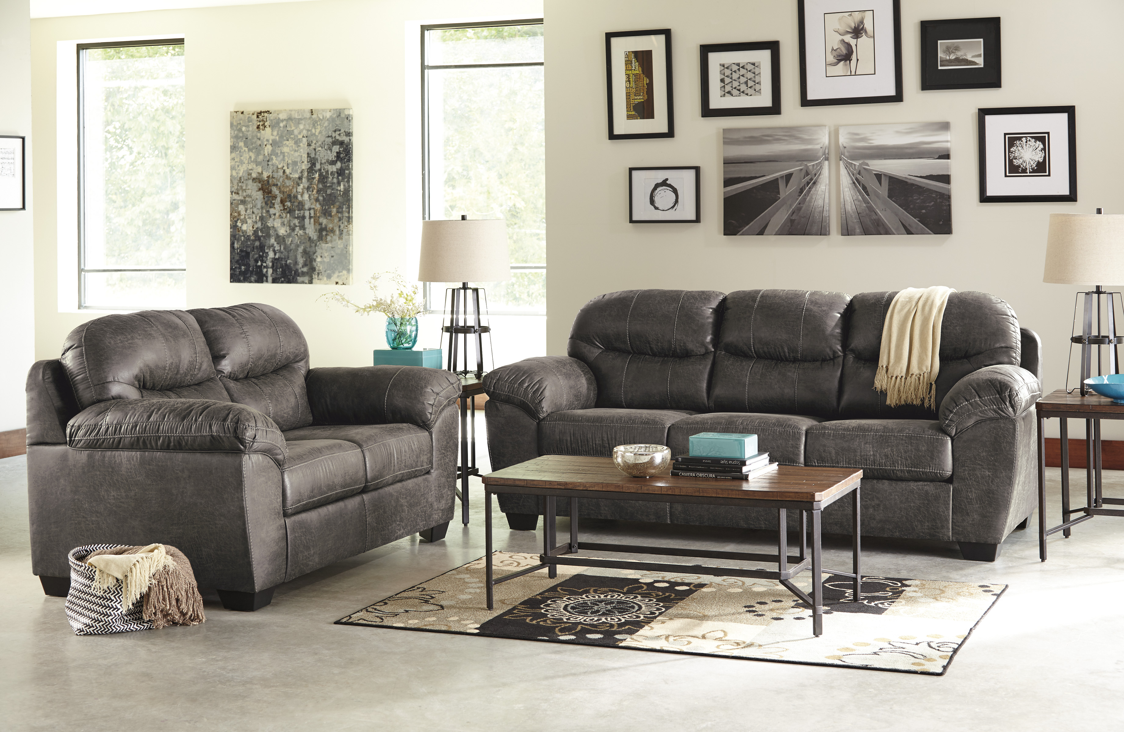 Living Rooms Sofa Loveseat Sets Furniture Plus Delaware . Kylee Lagoon  Living Room ... Part 39